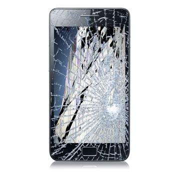Heeft u een  samsung galaxy s2 met gebroken glas en defecte lcd?    als de telefoon ziet eruit als op de ...