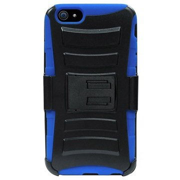 iPhone 6 / 6S Beyond Cell Armor Combo Cover Zwart / Blauw