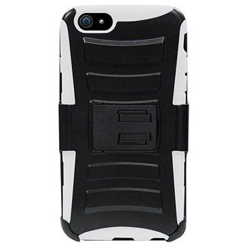 iPhone 6 / 6S Beyond Cell Armor Combo Cover Zwart / Wit