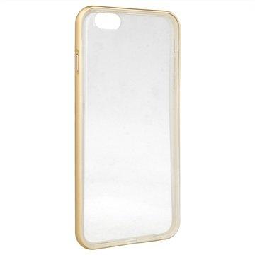 iPhone 6 Plus / 6S Plus 4smarts Uptown Clip Cover Goud