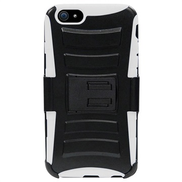 iPhone 6 Plus / 6S Plus Beyond Cell Armor Combo Cover Zwart / Wit