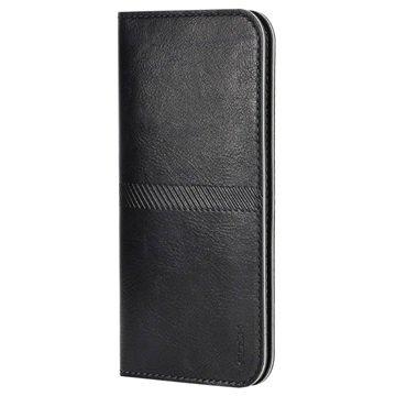 iPhone 6 Plus / 6S Plus Rock Wallet Hoesje Zwart