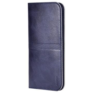 iPhone 6 Plus / 6S Plus Rock Wallet Hoesje Donkerblauw