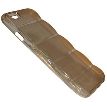 iPhone 6 Plus Barrel TPU Hoesje Doorzichtig Goud