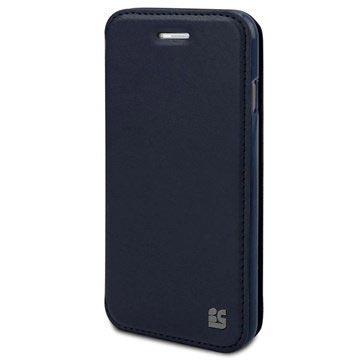 iPhone 6 Plus Beyond Cell Infolio A Wallet Leren Hoesje Neon Blauw