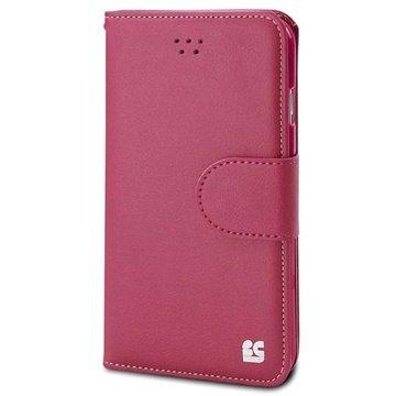 iPhone 6 Plus Beyond Cell Infolio B Wallet Leren Hoesje Hot Pink