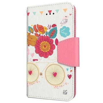 iPhone 6 Plus Beyond Cell Infolio Design Wallet Leren Hoesje Bird of Paradise