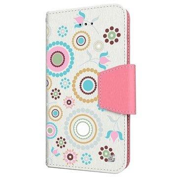 iPhone 6 Plus Beyond Cell Infolio Design Wallet Leren Hoesje Cirkel Collage