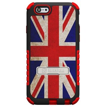 iPhone 6 Plus Beyond Cell Tri Shield Design Hybride Cover British Flag
