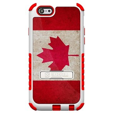 iPhone 6 Plus Beyond Cell Tri Shield Design Hybride Cover Canadese Vlag
