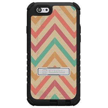 iPhone 6 Plus Beyond Cell Tri Shield Design Hybride Cover Pastel Chevron