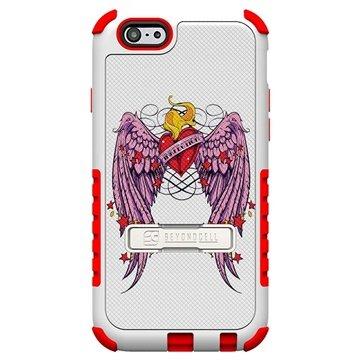 iPhone 6 Plus Beyond Cell Tri Shield Design Hybride Cover Gevleugeld Hart