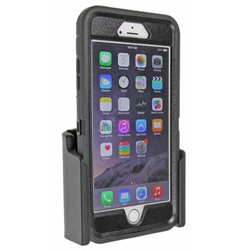 iPhone 6 Plus / 6S Plus Brodit Passieve Autohouder Zwart