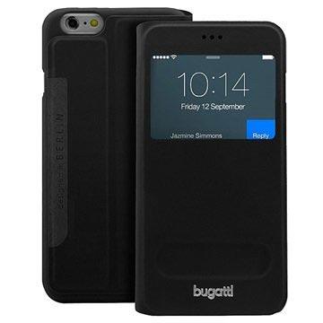 iPhone 6 Plus / 6S Plus Bugatti BookCover Lausanne Tas Zwart