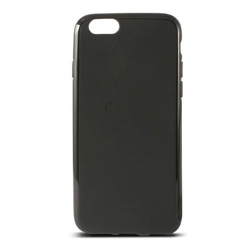 iPhone 6 Plus / 6S Plus Ksix Flex TPU Cover Zwart