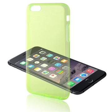iPhone 6 Plus / 6S Plus Ksix Ultrathin Fusion TPU Case Groen