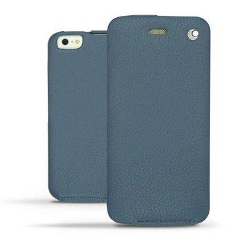 iPhone 6 Plus Noreve Tradition Flip Leren Case - Ambition Indigo