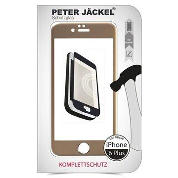 iPhone 6 Plus / 6S Plus Peter Jäckel Full Display HD Glass Displayfolie Goud
