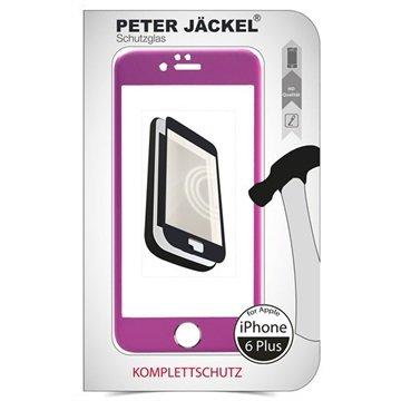 iPhone 6 Plus / 6S Plus Peter Jäckel Full Display HD Glass Displayfolie Roze