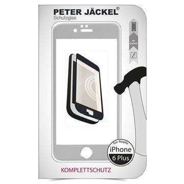 iPhone 6 Plus / 6S Plus Peter Jäckel Full Display HD Glass Displayfolie Zilver