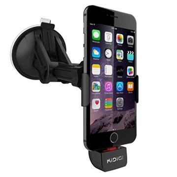 iPhone 6, iPhone 6 Plus KiDiGI Actieve Autohouder Zwart