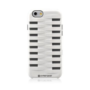 iPhone 6 HyperGear Terrain SnapOn Cover Wit / Grijs