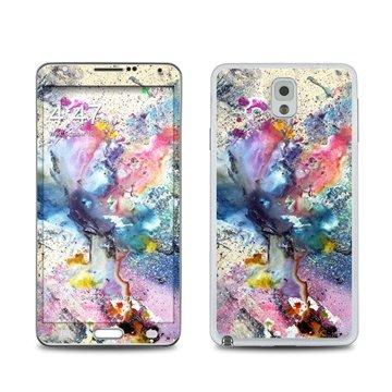 Dit is geen cover, dit is een decoratieve beschermde skin sticker!samsung galaxy note 3 cosmic flower skin  ...