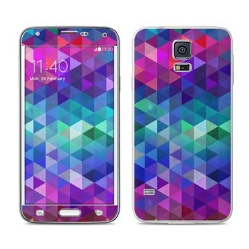 Dit is geen cover, dit is een decoratieve beschermde skin sticker!samsung galaxy s5 charmed skin  mete deze ...