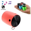 3 in 1 Mini Bluetooth Luidspreker & Camera Sluiter - Rood