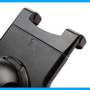 Universele tablet roterende handhouder 7 10 zwart for Bureauhouder iphone 6