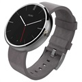 Motorola Moto 360 Smartwatch - Zilver / Stone Leather