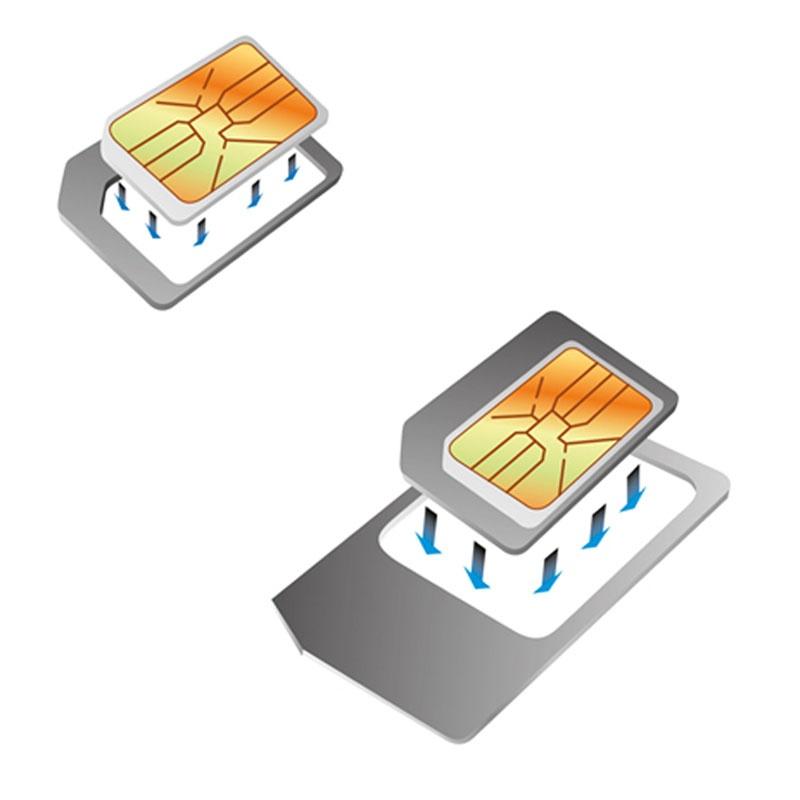micro sim auf nano sim schneiden