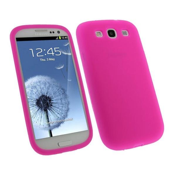 Samsung Galaxy S3 i9300 iGadgitz Siliconen Hoesje - Roze