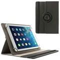"Universele Tablet Rotary Case 9""-10.1"" - Zwart"
