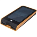 Xtorm Basalt AM118 Solar Externe Batterij / Power Bank - Zwart / Oranje